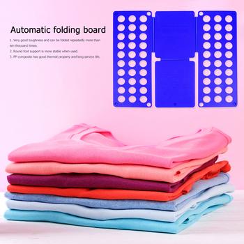 Jakość plastikowe dla dorosłych dzieci magiczne ubrania Folder t-shirty organizator Fold Save Time szybkie ubrania składana tablica uchwyt na ubrania tanie i dobre opinie CN (pochodzenie) Z tworzywa sztucznego Folding Board