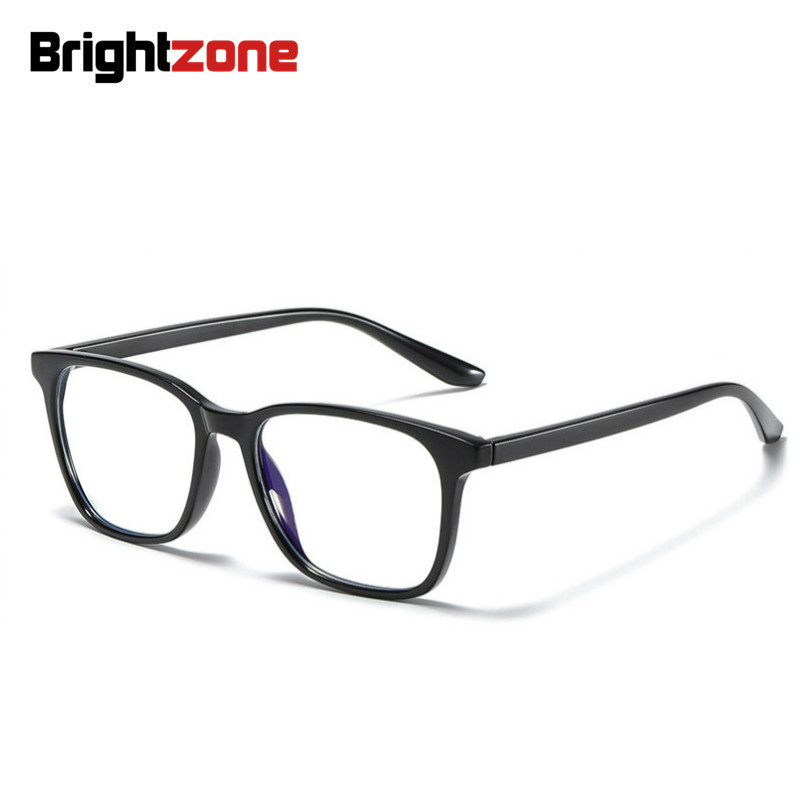 Brightzone Lightweight Tr90 Full Rim Blue Light Blocking Glasses Comfortable Students Eyeglasses For Computer Use Anti Eyestrain Women S Blue Light Blocking Glasses Aliexpress