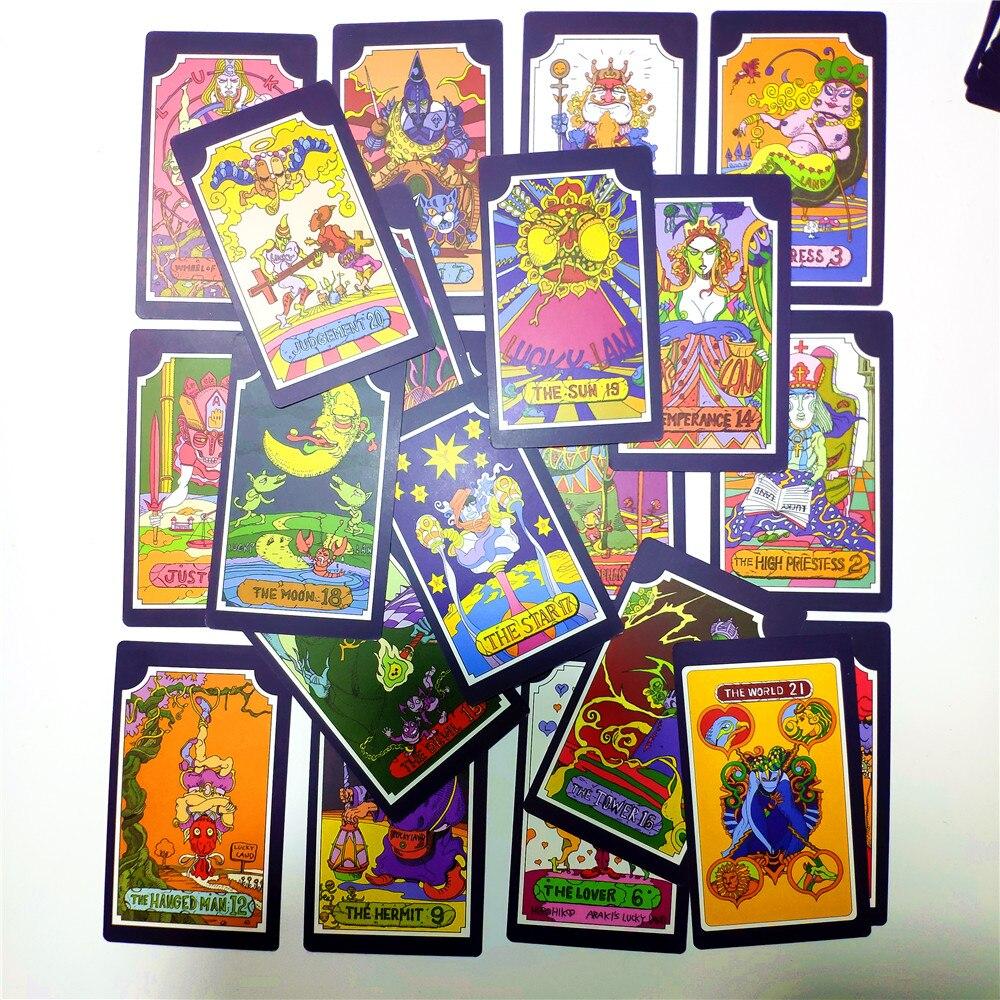 Tarot 22 Grand Akana + 9 Royal Gods 31 Anime JoJo's Bizarre Adventure Dio Jotaro Kujo Joseph Bruno Bucciarati JOJO Animation
