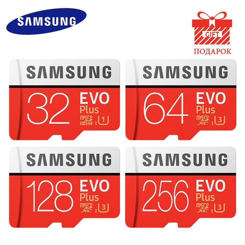 Scheda di Memoria SAMSUNG Micro SD 256GB 32GB 64GB 128GB 512G SDHC SDXC Grado EVO + classe 10 C10 UHS Schede di DEVIAZIONE STANDARD TF Trans Flash Microsd|Micro SD|   - AliExpress