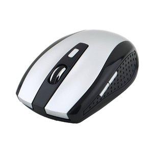 5 przycisków + 1 kółka przewijania myszy z odbiornikiem USB 2.4ghz bezprzewodowa optyczna myszka do PC Laptop najnowszy Drop Shipping hurtownie 10m