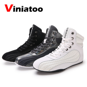 Новые Профессиональные боксерские туфли, Мужская обувь для борьбы, дышащие удобные боксерские кроссовки, мужские черные боксерские кроссо...