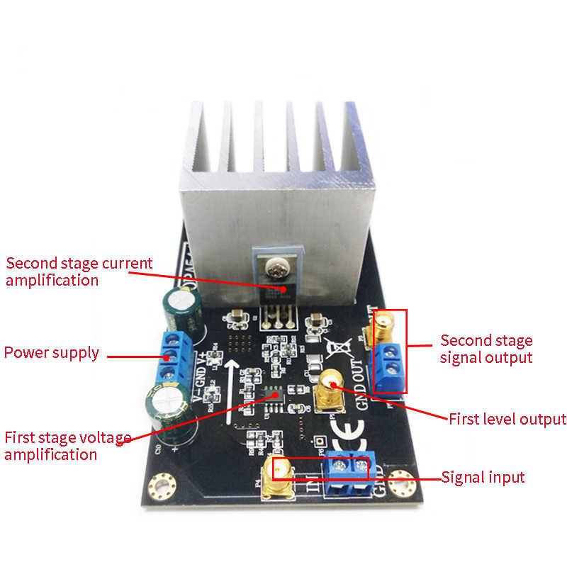 Lm1875 amplificador de potência módulo de alta tensão e alta corrente amplificação 55 v pico motor drive placa amplificador