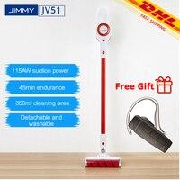 [شحن مجاني] مكنسة كهربائية جيمي JV51 محمولة لاسلكية قوية شفط فراغ تنظيف 10000rpm منخفضة الضوضاء VS JV83-في مكانس كهربائية من الأجهزة المنزلية على