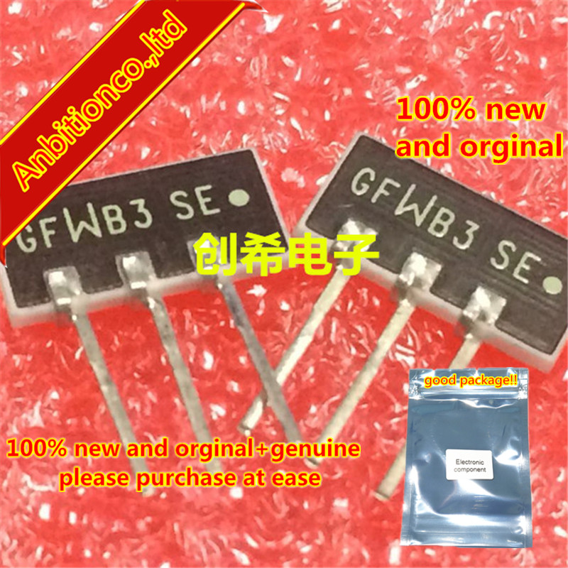 5pcs 100% New Original GFWB3 76-108MHZ Japan Double Letter Bandpass Filter FM 76-108M Three-pin