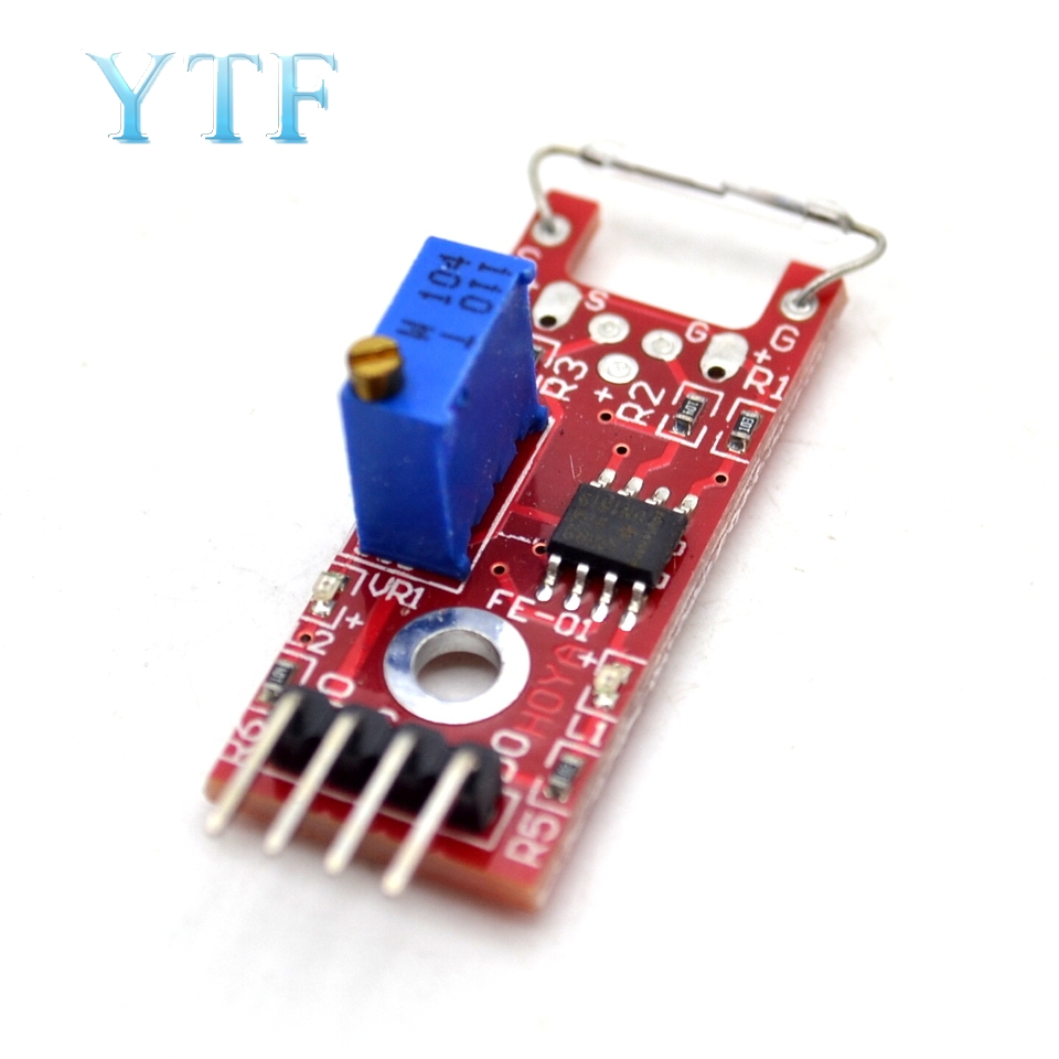 KY-025 4pin BETR Magnetic Dry Reed Pipe Switch Magnetron Sensor Module