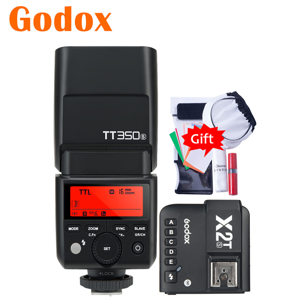 Godox TT350S 2,4G TTL GN36 камера вспышка Speelite X2T-S Bluetooth передатчик для Sony A6000 A6500 A7RIII A7SII A9 A68 A99