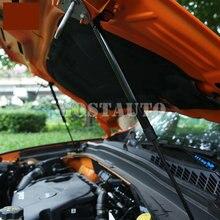 Para Jeep renegado 2016-2019 capuchas de autos de choque puntal elevador de amortiguadores Hood 2 uds accesorios del coche Interior decoración de coche Trim
