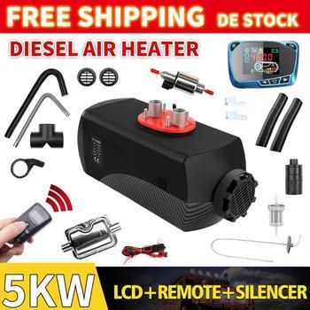 Renoster Warming Planar 12V 5KW Air Diesel Parking Car Heater Air Diesels Heater Parking Heater for Car Truck Bus Camper Van