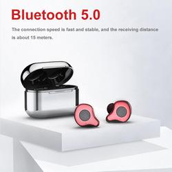 Sabbat E12 Portable Noise Reduction TWS Wireless Bluetooth 5.0 Earphone One Button Control Auto Pair Earpiece With Charge Box