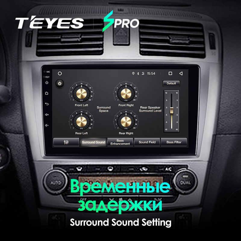 TEYES SPRO para Toyota Avensis 2008, 2009, 2010, 2011, 2012, 2013, 2014, 2015 auto Radio Multimedia reproductor de Video GPS de navegación Android 8,1 No 2din 2 din dvd
