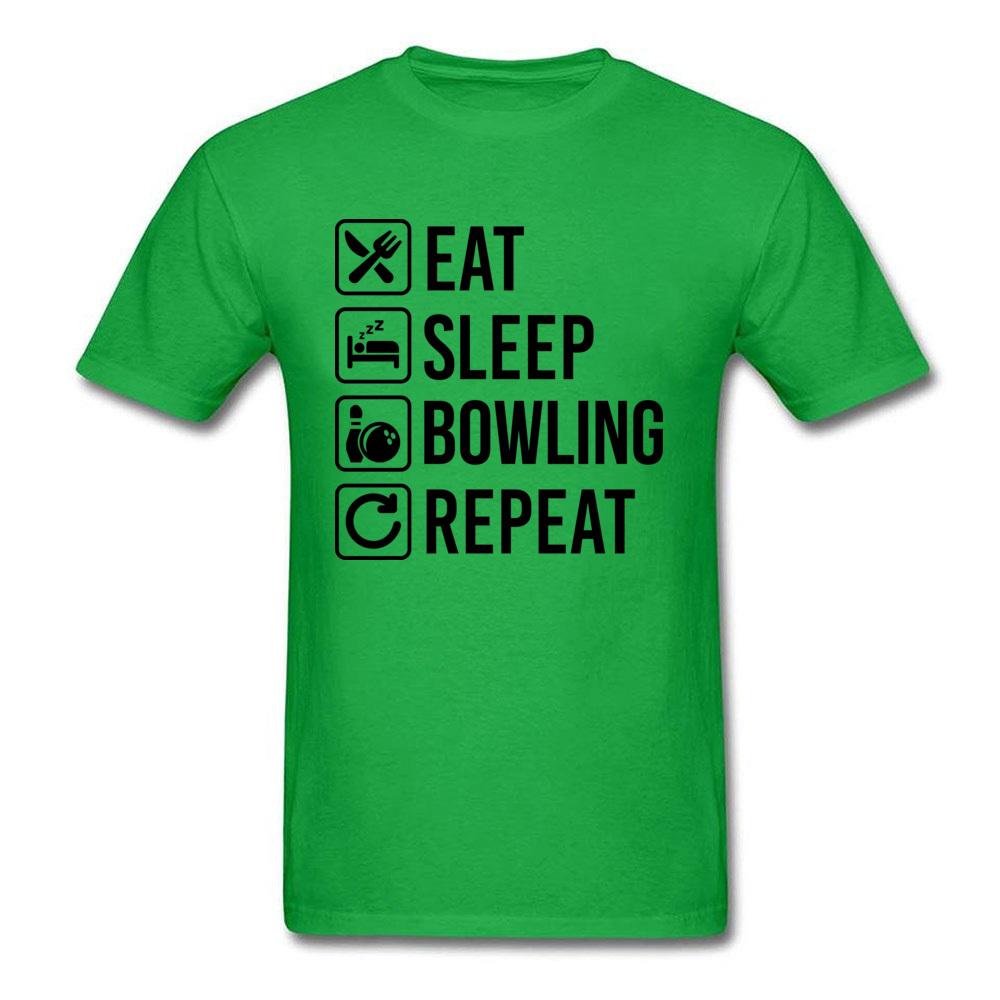 Eat Sleep Bowling Repeat_green
