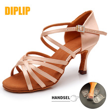 Dance-Shoes Salsa Latin Tango High-Heel Girls Women's Soft-Bottom DIPLIP New-Hot 5/7cm