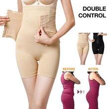 Прикладом body shaper Для женщин пояс для похудения трусики