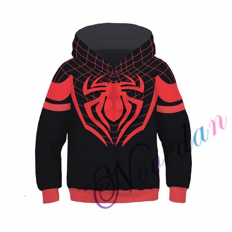 Kids Boys Hooded Endgame Cosplay Venom Man Sweatshirt Hoodie Costume Superhero Streetwear 2