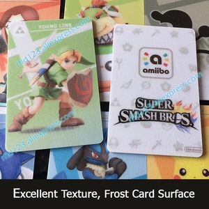 Image 2 - 83pcs NFC Amiibo Card For Super Smash Bro. Series NFC Printing Card with Links Awakening Amiibo