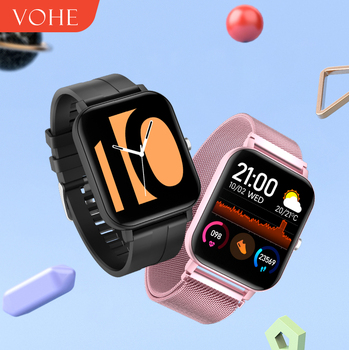 VOHE 2020 Smart Watch Waterproof Men Women Smartwatch Band Sport Fitness Bracelet Heart Rate Monitor For xiaomi android ios