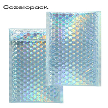10PCS% 2FPack Metallic Padded Envelopes Bubble Mailer Laser Packaging Self Adhesive Courier Bag for Gift +Padded Shipping Envelope