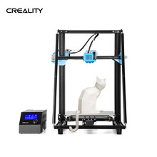 Creality 3d CR-10 v2 3d impressora em forma de v perfil 300*300*400mm tamanho placa-mãe silenciosa retomar detecção de quebra de filamento de impressão