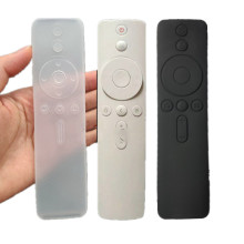 1PC Silicone Voice Button Remote Control Cover Case for Xiaomi 4 TV Dustproof Protective Case for Xiaomi Set-top Mi Box 4 Series