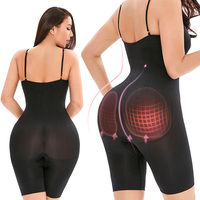 Women Shapewear Sculpting Bodysuits Butt Lifter Shaping...