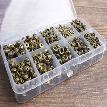 12 PCS bronze  Pieces Every bead gasket fashion jewelry box DIY bracelet necklace and All kinds of accessories