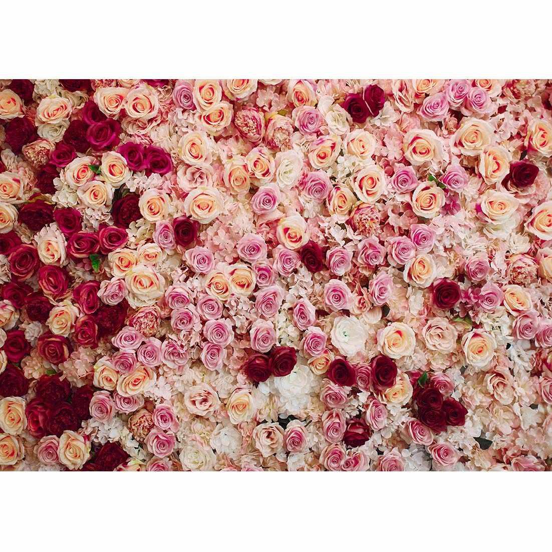 Fiore di Rosa Fiori di Cerimonia Nuziale Della Parete Foto di Sfondo Photophone Capretto Sfondo Fotografia Puntelli In Studio Puntelli Sparare Per Il Bambino Doccia Bambino