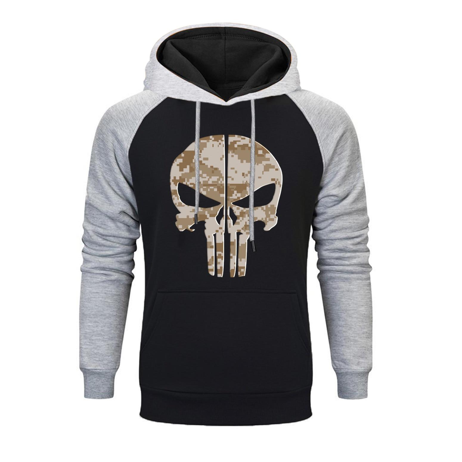 2019 novos crânios hoodies venda quente dos homens outono moda hoodies moletom dos homens hip hop inverno streetwear pullover sportwear topo