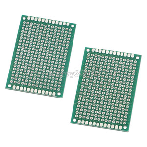 Image 4 - 10PCS FR 4 Double Side Prototype PCB 280 Points Hole Tinned Universal Breadboard 4x6cm 40mmx60mm