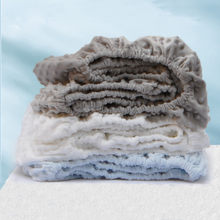 Minky Dot Baby Ausgestattet Krippe Blatt für Newbrons Winter Fannel Solide Bett Blatt Weichen Krippe Bettlaken Für Kinder Matratze abdeckung