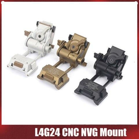 elemento de airsoft l4g24 cnc nvg montar aluminio quadro arma capacete pecas de montagem braco