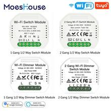 Switch-Module Dimmer Smart-Light Alexa Google Home Remote-Control-Work Wifi Mini