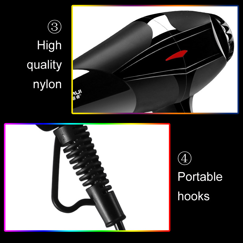 Professional 3200W Strong Power Hair Dryer for Hairdressing Barber Salon Tools Blow Dryer Low Hairdryer Hair Dryer Fan 220-240V 5