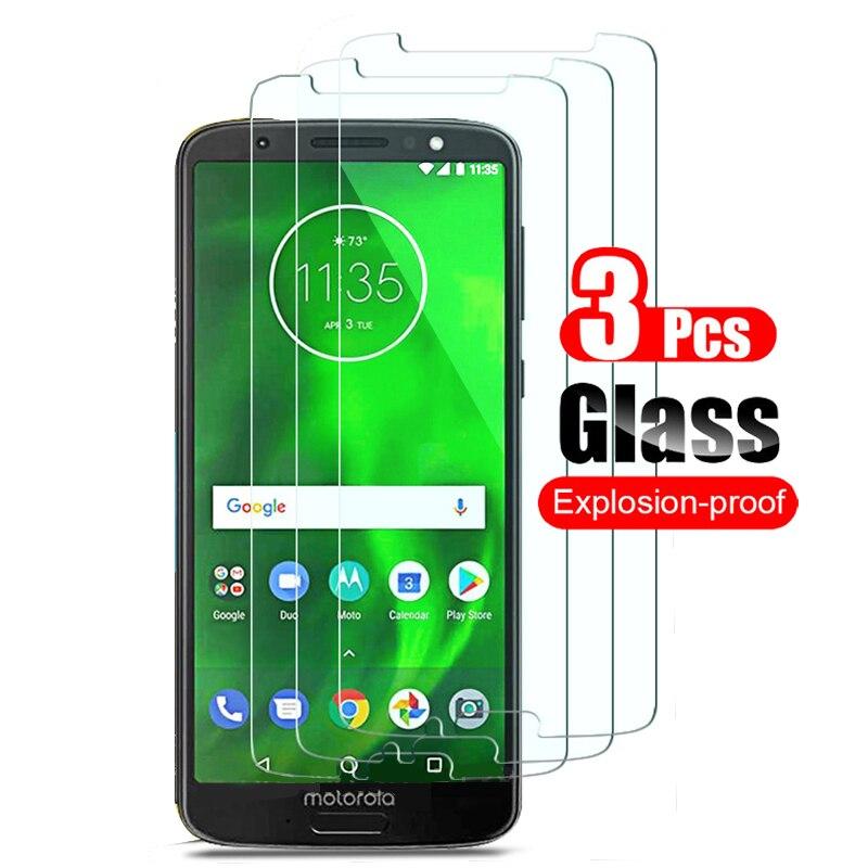 Закаленное стекло для Motorola Moto G6 Plus, 3 шт., защитная пленка из закаленного стекла для Motorola Moto G6 Plus Play|Защитные стёкла и плёнки|   | АлиЭкспресс