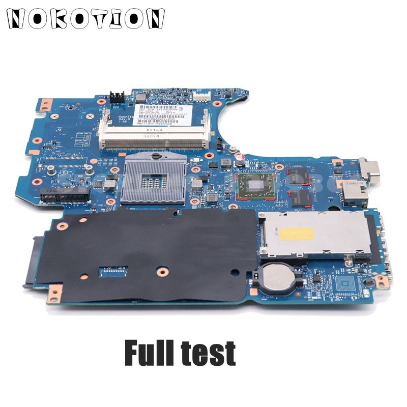 NOKOTION 670795-001 658343-001 For HP Probook 4530s 4730s Laptop Motherboard 6050A2465501-MB-A02 HM65 DDR3 1GB GPU