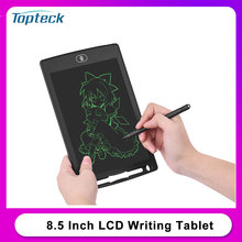 8.5 Inch LCD Writing Tablet Portable Reusable Electronic Digital Drawing Board Graphics Handwriting Pad Single Color Stylus Pen