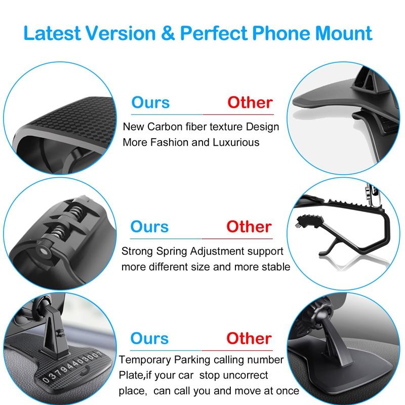 Phone-Holder-HUD-Car-Dashboard-Phone-stand-360-Rotation-Adjustable-GPS-Car-Clips-holder-for-Universal (2)