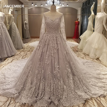 LS28564 luxury long evening dress 2017 corset back grey appliques ball gown long elegant prom evening dress 2017 real photos
