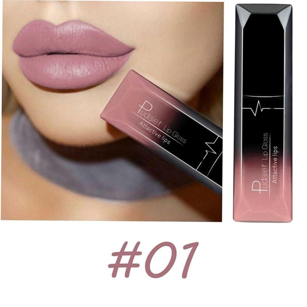 Long Lasting Liquid Lipstick Soft Matte Velvet Lip Gloss Non Stick Cup Lip Makeup Lip Lipstick Cosmetic For Women