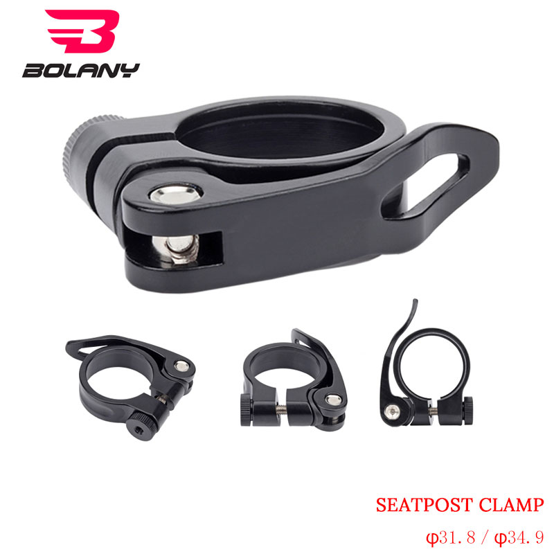 Aluminum Alloy Seatpost Clamps MTB Bike Cycling Bicycle Parts 31.8//34.9mm