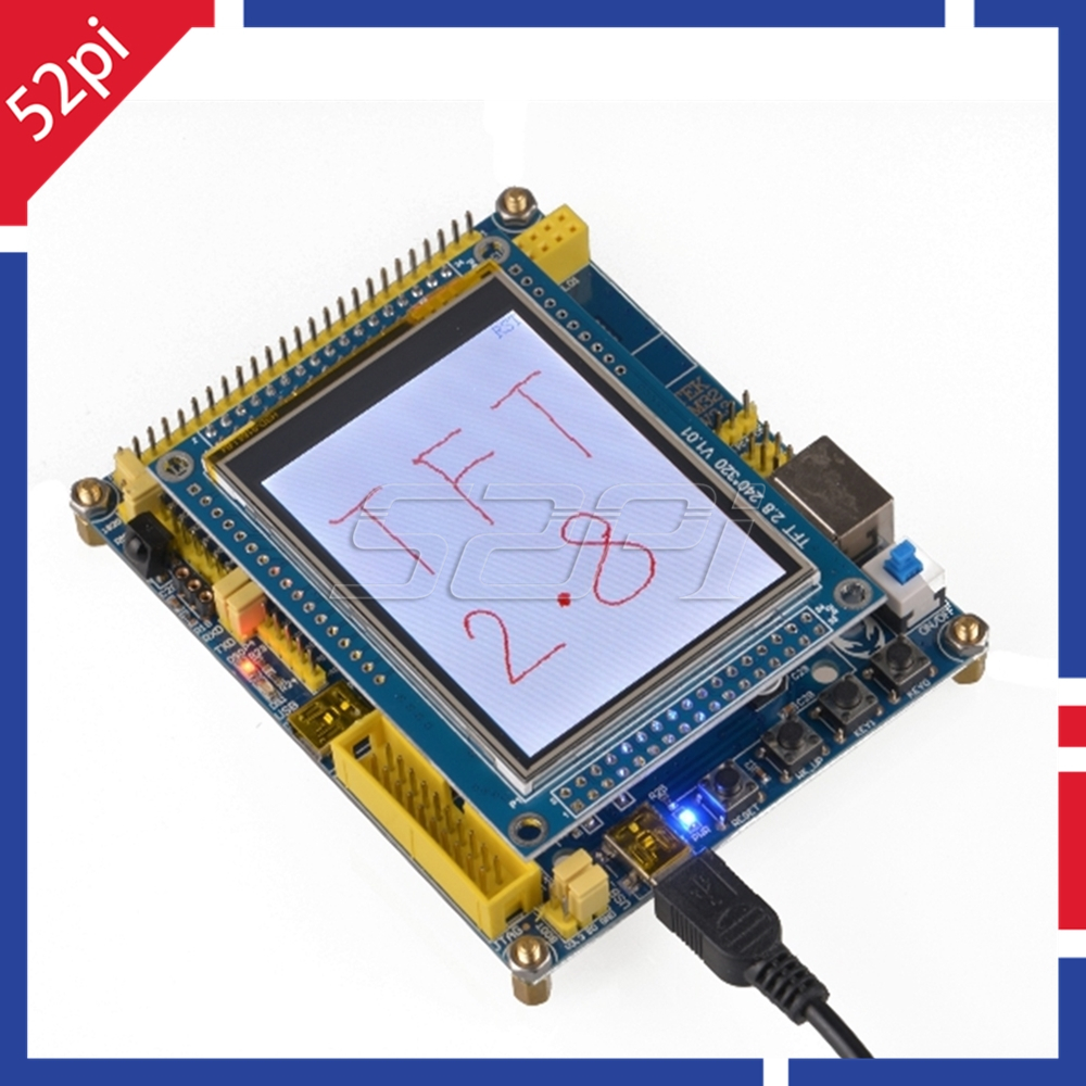 52Pi TFT28 Display + Touch Panel + PCB 2.8 Inch TFT LCD Screen Module  320*240 ILI9341 For Raspberry Pi 4 B / All Models