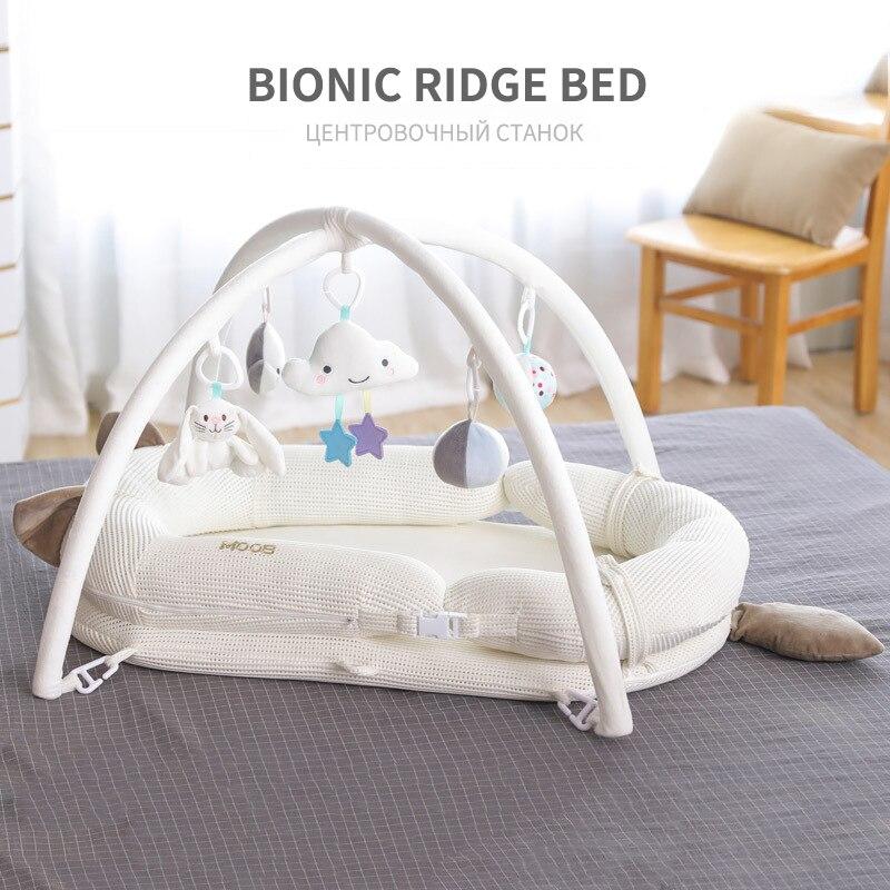 Детская кровать для сна; детская кроватка; Комплект постельного белья; детская игрушка головоломка; подвесная кукла; детская кровать для пу...