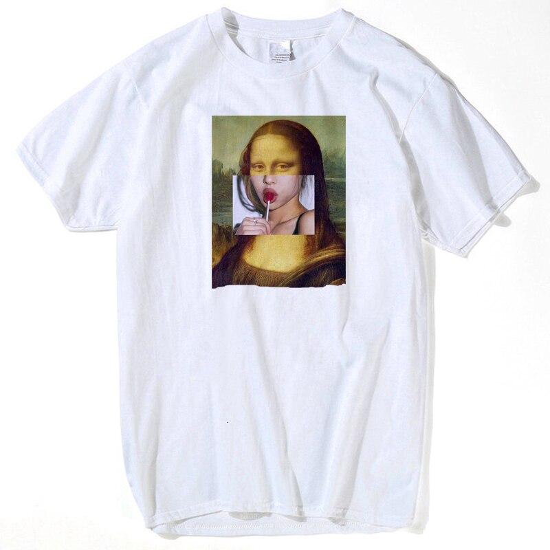 Spoof Harajuku Pulp Fiction T-shirt Summer Femme Mia Wallace Tshirt Life Is Boring Letter Men Tshirts MICHELANGELO Streetwear