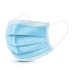 Mascarilla desechable con correa para las orejas protección facial envío gratuito con dhl Health mascarilla no tejida 3 capas