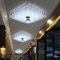 Современный хрустальный светодиодный потолочный светильник ing потолочное освещение в коридоре домашняя спальня гостиная Светильник ing бал...