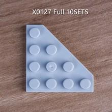 80 peças 10 conjuntos conjunto completo x0127 construção blokcs