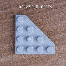 80PCS 10SETS VOLLEN SATZ X0127 Gebäude blokcs
