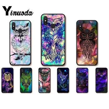 Yinuoda Owl and Dream Catcher Splendid Phone Case for Redmi note8Pro note5 note7 note 8t 9 note9s note9pro Xiaomi 5 9t 9 max2 image