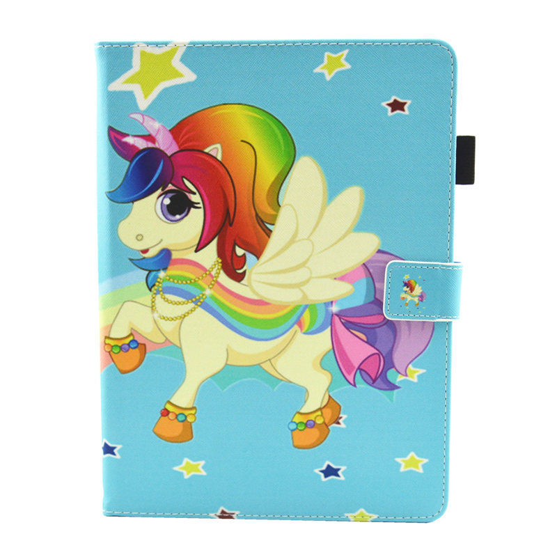 21 Champagne Cute Unicorn Cat Case For iPad 10 2 Case 2019 Tablet Cover For iPad 10 2