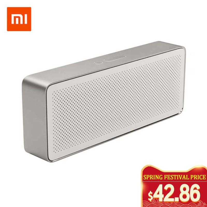 Xiaomi Mi Bluetooth Speaker Square Box 2 Stereo Portable Bluetooth column 4.2 Wireless Mini HD High Definition Sound Quality